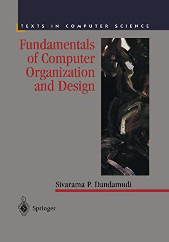 9781475778335: Fundamentals of Computer Organization and Design (Texts in Computer Science)