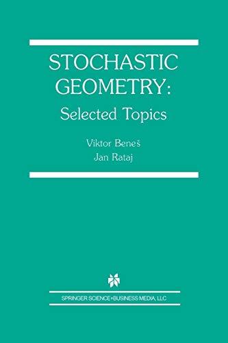 9781475779394: Stochastic Geometry: Selected Topics