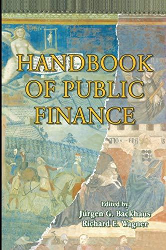 9781475780284: Handbook of Public Finance