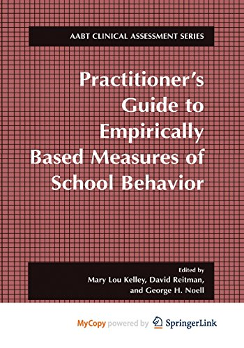 9781475781977: Practitioner's Guide to Empirically Based Measures of School Behavior