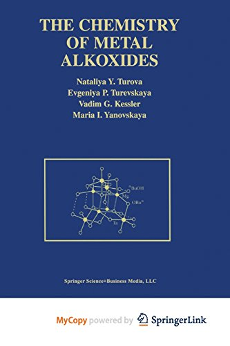 9781475783728: The Chemistry of Metal Alkoxides