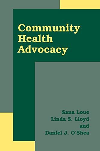 9781475787337: Community Health Advocacy
