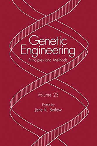 9781475787986: Genetic Engineering: Principles and Methods (Volume 23)