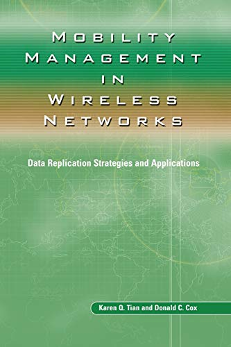 9781475788624: Mobility Management in Wireless Networks: Data Replication Strategies and Applications