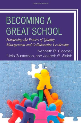 Becoming a Great School: Harnessing the Powers: Dr. Kenneth B.