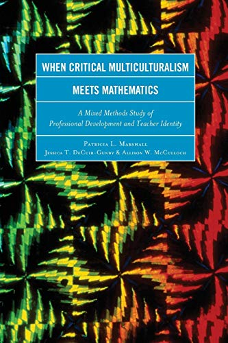 9781475808490: When Critical Multiculturalism Meets Mathematics: A Mixed Methods Study of Professional Development and Teacher Identity