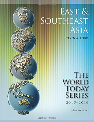 9781475818741: East and Southeast Asia 2015-2016 (World Today (Stryker))