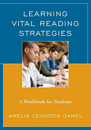 9781475822236: Learning Vital Reading Strategies: A Workbook for Students
