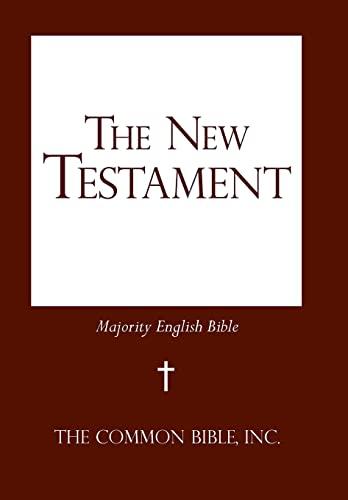 9781475979800: The New Testament: Majority English Bible