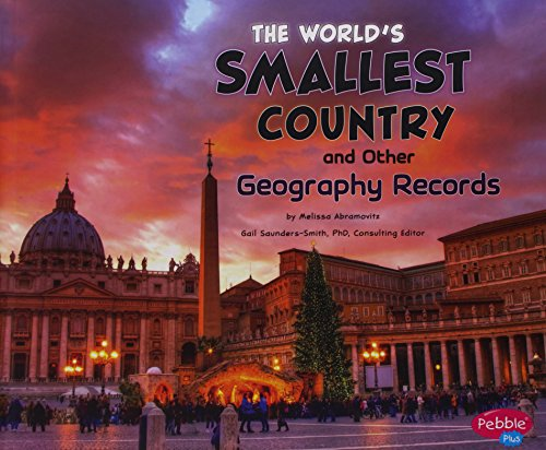 9781476502410: The World's Smallest Country and Other Geography Records (Wow!)