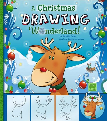 9781476530925: A Christmas Drawing Wonderland! (Holiday Sketchbook)