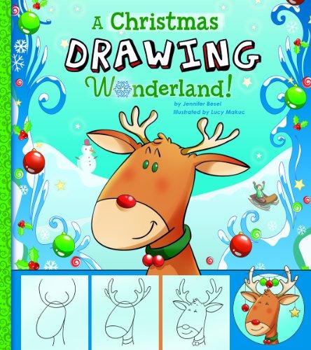 9781476534473: A Christmas Drawing Wonderland! (Holiday Sketchbook)