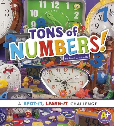 9781476551029: Tons of Numbers!: A Spot-It, Learn-It Challenge