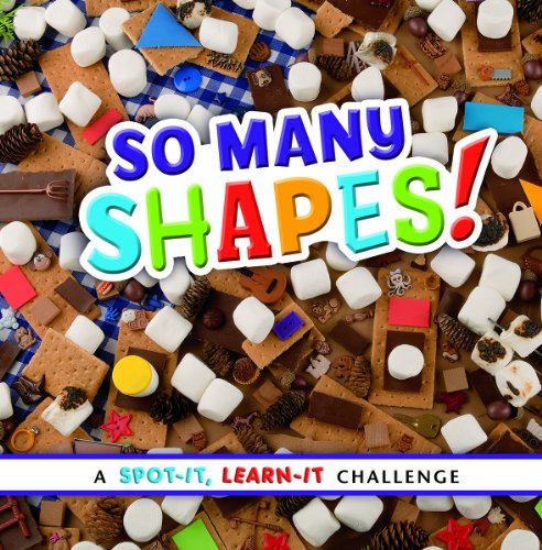9781476551081: So Many Shapes!: A Spot-It, Learn-It Challenge