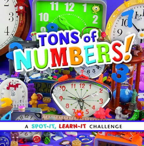 9781476551104: Tons of Numbers!: A Spot-It, Learn-It Challenge