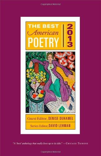 9781476708027: The Best American Poetry 2013 (The Best American Poetry series)