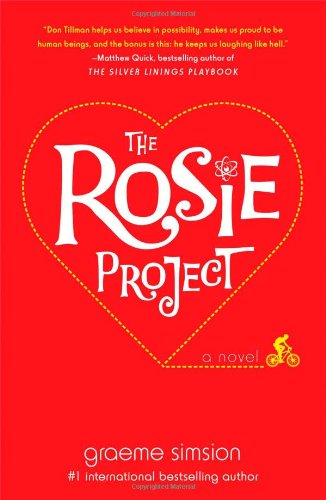 Cover of the book, The Rosie Project (Don Tillman, #1).