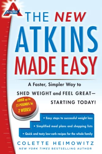 9781476729954: The New Atkins Made Easy: A Faster, Simpler Way to Shed Weight and Feel Great -- Starting Today!