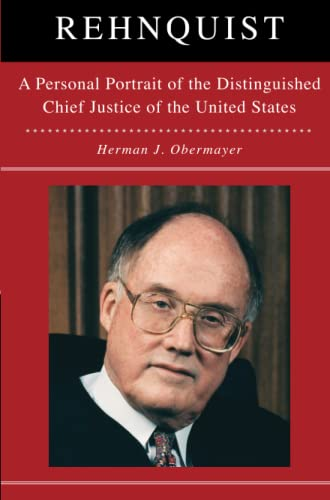 9781476746432: Rehnquist: A Personal Portrait of the Distinguished Chief Justice