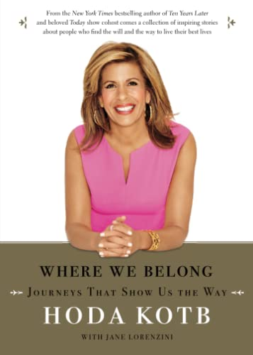 9781476752433: Where We Belong: Journeys That Show Us the Way