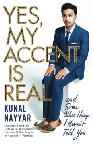 9781476761848: Yes, My Accent Is Real: And Some Other Things I Haven't Told You