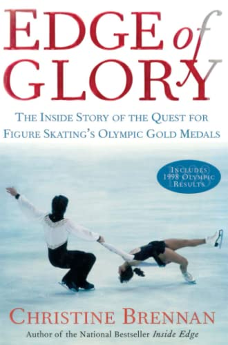9781476771960: Edge of Glory: The Inside Story of the Quest for Figure Skatings Olympic Gold Medals (Lisa Drew)