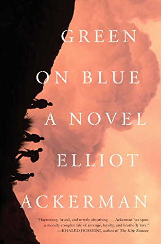 Green on Blue (Signed First Edition): Ackerman, Elliot