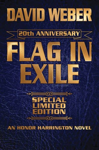 9781476781549: Flag in Exile Leatherbound Limited Ed (Honor Harrington)