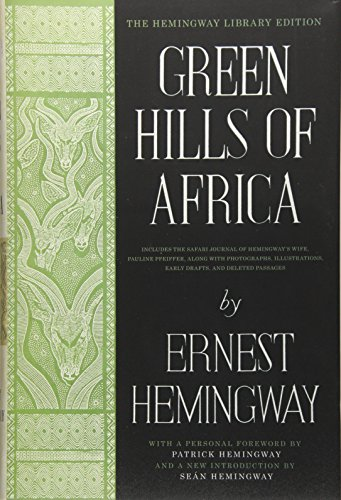 9781476787558: Green Hills of Africa: The Hemingway Library Edition