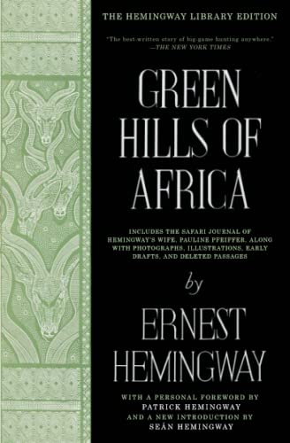 9781476787589: Green Hills of Africa (Hemingway Library Edition)