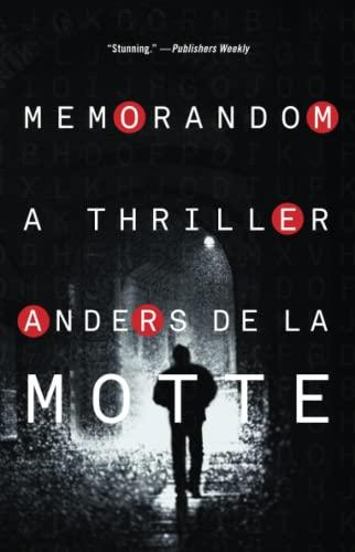 9781476788067: MemoRandom: A Thriller