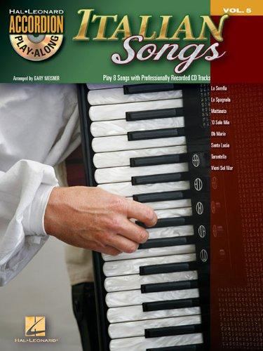 9781476811963: Italian Songs: Accordion Play-Along Volume 5