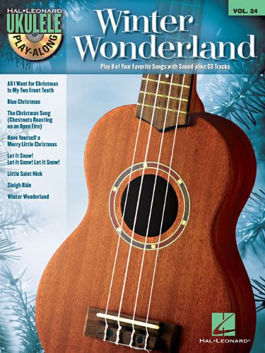 9781476812571: Winter Wonderland - Ukulele Play-Along Vol. 24 (Book/CD)