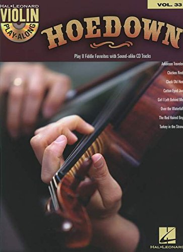 9781476813059: Violin Play-Along: Volume 33: Hoedown (Hal Leonard Violin Play Along)