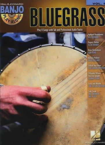Bluegrass - Banjo Play-Along Vol. 1 (Book/CD) (Hal Leonard Banjo Play-Along)