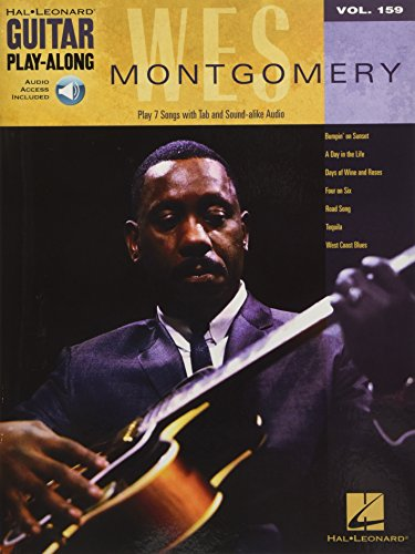 9781476813769: Wes Montgomery: Guitar Play-Along Volume 159