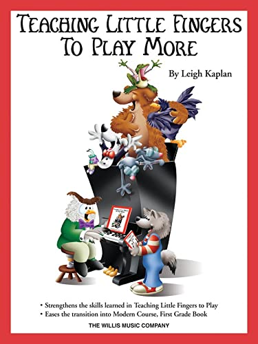 9781476813813: TEACHING LITTLE FINGERS TO   PLAY MORE                    BOOK AND CD