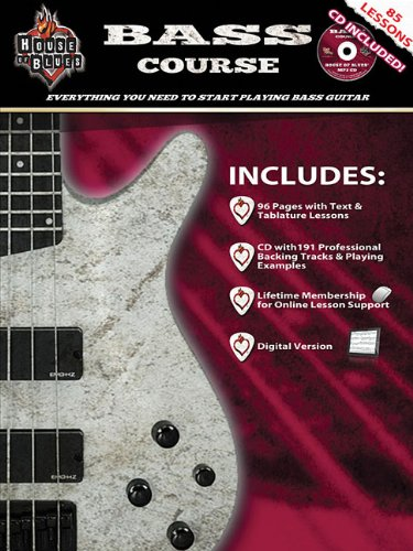 9781476813875: House of Blues Bass Course - Expanded Edition: Everything You Need to Start Playing Bass Guitar
