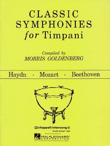 9781476813974: Classic Symphonies for Timpani