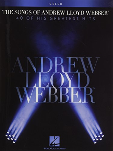 9781476814070: The Andrew Lloyd Webber Collection For Cello (book Only)