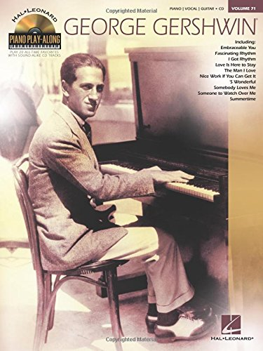 9781476814391: George Gershwin: Piano Play-Along Volume 71 (Hal Leonard Piano Play-Along)