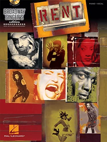 9781476814469: Rent: Broadway Singer's Edition (Book/CD)