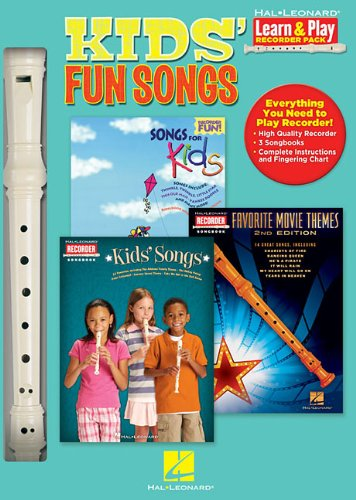 9781476815077: Kids' Fun Songs: Learn & Play Recorder Pack