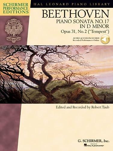 9781476816289: Beethoven: Sonata No. 17 in D Minor, Op. 31, No. 2 (Tempest) (Hal Leonard Piano Library, Schirmer Performance Editions)