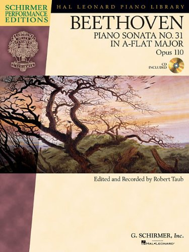 9781476816401: PIANO SONATA NO. 31 IN A-FLAT MAJOR OP. 110 BK/CD SCHIRMER PERFORMANCE EDITION (Hal Leonard Piano Library)