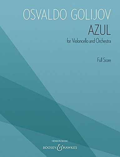 9781476816616: Azul: Cello, Obbligato Group, Orchestra Archive Edition
