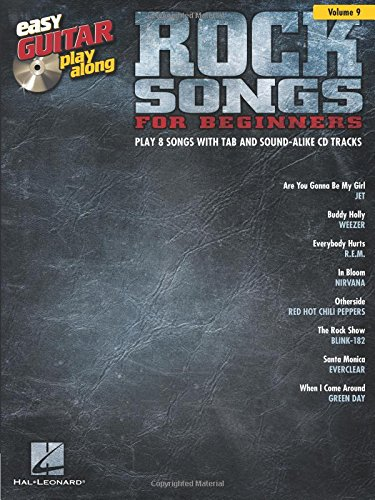 9781476817620: Easy Guitar Play-Along Vol.009 Rock Songs For Beginners + Cd