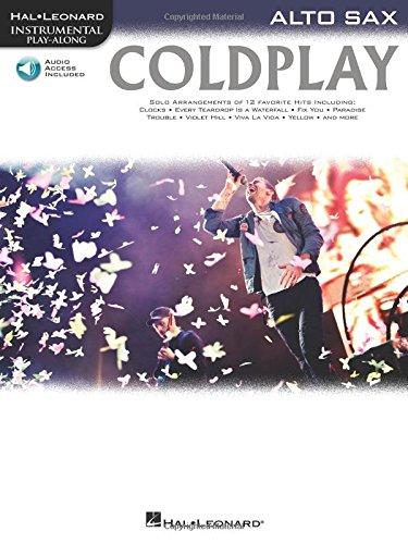 Coldplay: for Alto Sax (Hal Leonard Instrumental Play-Along): Coldplay