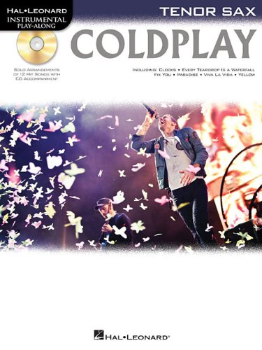 9781476818344: Coldplay: for Tenor Sax (Hal Leonard Instrumental Play-Along)