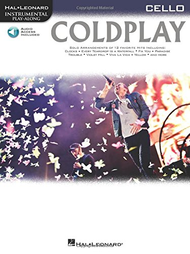 9781476818405: Coldplay: for Cello - Hal Leonard Instrumental Play-Along With Online Audio